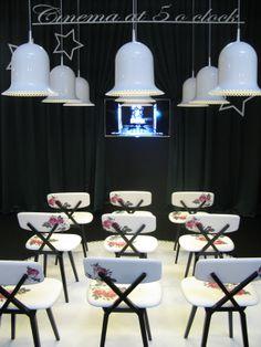 Cinema at 5 o'clock, Nika Zupanc, SaloneSatellite 2012