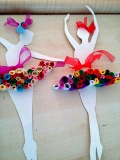 Krigami balerin This can be B is for Ballet Ballet Crafts, Dance Crafts, Diy And Crafts, Crafts For Kids, Arts And Crafts, Paper Crafts, Projects For Kids, Diy For Kids, Craft Projects