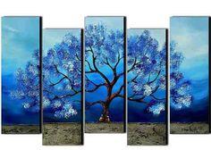 Quadro Abstrato, Grande Painel Arvore Da Vida (promoção) - R$ 979,99 em Mercado Livre