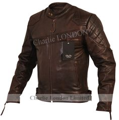 bf1fa07f8421 Injecting the spirit of adventure into every piece, Charlie LONDON  introduces the Stannard Leather Jacket