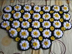 beautiful free pattern - Floral Carpet - C K Crafts