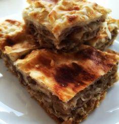 Cevizli Börek Tarifi Lasagna, Ethnic Recipes, Food, Essen, Meals, Yemek, Lasagne, Eten