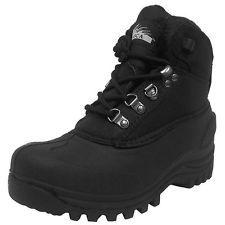 Itasca Womens 642111 SNOW STORM Nylon WARM Hiking Winter Snow Boots [ Black ]