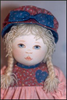 "Oregon RagBabies  - Kezi Matthews Original Cloth Doll Pattern.  ""Elgarose"""