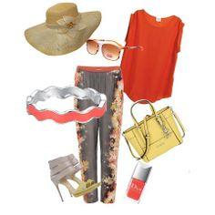 Estate, comodità e glamour in un unico outfit! #look #outfit #consiglidistile #tendenzedonna2104 #sprinsummer2014