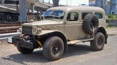 Apocalypse ready Dodge WC53 Carryall for sale on Bring a Trailer