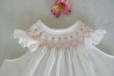 hand smocked baby dress by bettye...this was the first pattern I ever smocked for Ashley