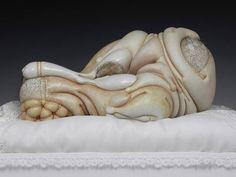 Les sculptures organiques étranges et dérangeantes de Jason Briggs (image)