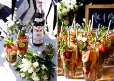 Pimms Cocktail / Wedding Style Inspiration / LANE