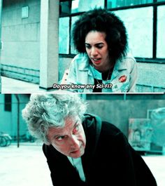 GURL I AM SCI FI. Doctor Who The Pilot Series 10 Pearl Mackie Bill Potts Peter Capaldi Twelfth Doctor