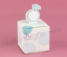 wedding candy bags wholesale Engagement Ring Favor Box BETER-TH019 christmas and home decor