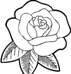 Dessin Fleur Facile Rose