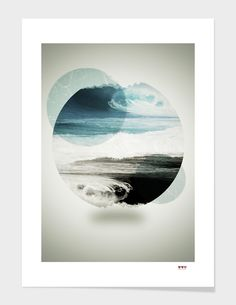 Poster design abstract surreal