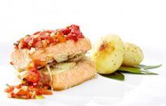 Salmón al Horno con Tomate | Recetas Pescanova