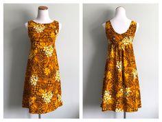 A personal favorite from my Etsy shop https://www.etsy.com/listing/593880293/vintage-1960s-hawaiian-dress-mini-dress