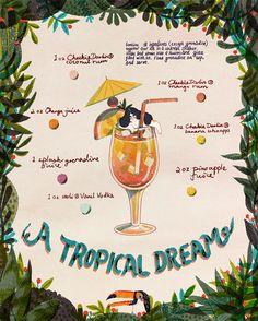 Tropical Dreams on Behance