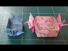 학상자접기.오월의장미.origami.323종이접기. - YouTube