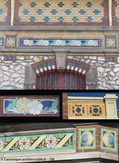 Les panneaux marqués de la Faïencerie de Choisy-le-Roi – Céramique Architecturale Décorative