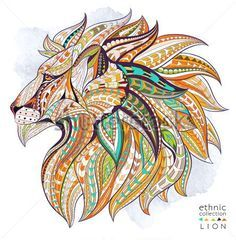 Ethnic Collection Lion Tattoo | Tatoo on Pinterest | Lion, Lion Tattoo and Si…