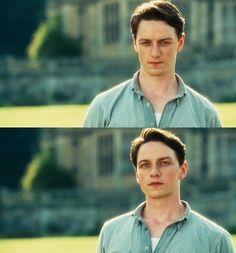 James McAvoy as Robbie Turner (Atonement, 2007)