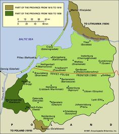 This site is remembrance the tragic fate of the former German province of East Prussia. It was the easternmost province of the German Empire Danzig, Alternate History, Old Maps, Thats The Way, European History, Historical Maps, Baltic Sea, Lithuania, My Family History