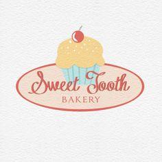 Pre-made Cupcake Bakery Logo : Customizable!