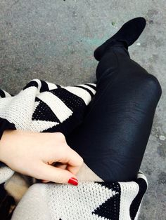 I adore Fashion . Fashion Fashion, Street Style, Leather, Urban Style, Street Chic, Street Styles