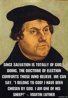 Martin Luther was a German theologian, a religious reformer, and the catalyst of the Protestant Reformation. Reformation Day, Protestant Reformation, Christian Faith, Christian Quotes, Martin Luther Quotes, 5 Solas, Grace Alone, Soli Deo Gloria, Reformed Theology