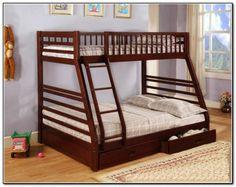 """Двухярусная трехспальная кровать семейного типа """"Юлия """" трансформер массив295756097"""
