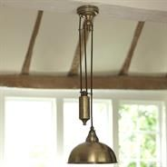 The perfect #country #kitchen #light. Butler #Rise and #Fall #Pendant #Light