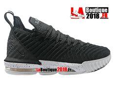 Nike Lebron 16 EP LBJ Noir/Blanc Chaussures Officiel Nike Basketball Prix Pour Homme