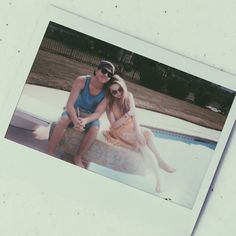 Sabrina Carpenter with Bradley Steven Perry.