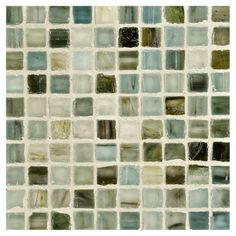 "ZUMI GLASS MOSAIC - Azureal - Silk Finish 1/2"" x 1/2"" Mini Mosaic Recycled Glass. A recycled glass mosaic tile crafted by artisans in a most spectacular manner.  Complete Tile Collection  MI#: 038-G2-263-363  #GlassMosaic #RecycledTile #HandMadeTile"