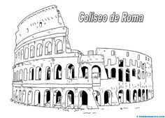 Coliseo de Roma Travel Around Europe, Travel Around The World, Roman Architecture, Time Kids, Pen And Paper, Ancient Rome, Roman Empire, Travelers Notebook, Embroidery Applique
