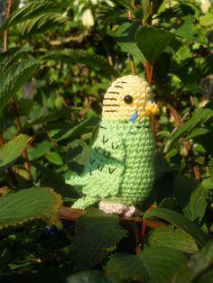 green bird: free pattern