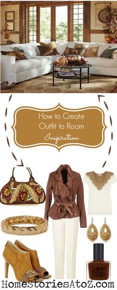 Fall Winter 2013 Outfits Inspired by Pottery Barn. Fun tutorial on how to translate a room into an outfit.