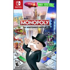 Superb Monopoly Nintendo Switch Now At Smyths Toys UK! Buy Online Or Collect At Your Local Smyths Store! We Stock A Great Range Of Nintendo Switch Games At Great Prices. Nintendo Switch System, Nintendo Switch Games, Nintendo 3ds, Monopoly, Wii, Nintendo Switch Accessories, Action Cards, Toys Uk, Family Board Games