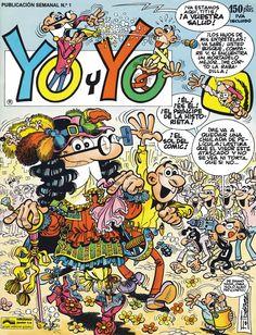 Mortadelo y Filemon Nostalgia, Magazines For Kids, Humor, Comic Covers, Retro, My Childhood, Cover Art, Snoopy, Drawings