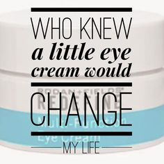 So true! The 1st R+F product I tried & I knew within 3 days this was a company I needed to be part of. Life changing decision made from using our little jar of Joy. Try our eye cream & Join my team