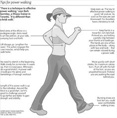 Tips for power walking
