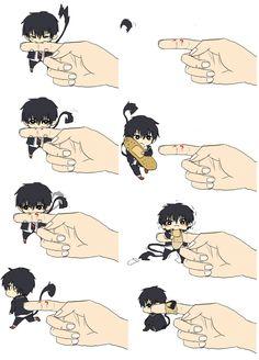 #blue #no #exorcist #anime #manga #kawaii #chibi #Rin #okumura