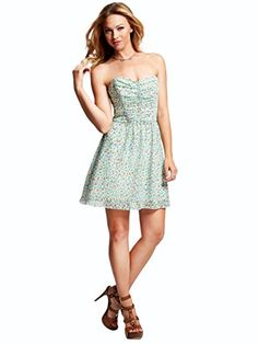 GUESS Women's Strapless Tie-Back Ditsy Floral-Print Dress GUESS http://www.amazon.com/dp/B00LFBAIFK/ref=cm_sw_r_pi_dp_1tFOvb1CSGTHE