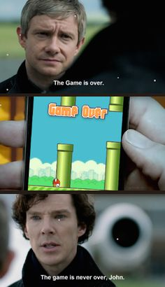 When the game was on. | 27 Times The Sherlock Fandom Won Tumblr