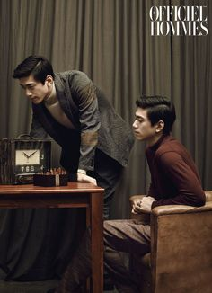 Sung Joon - L'Officiel Hommes Magazine August Issue '15