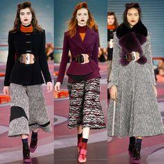 February, 23 Roksanda Fashion Show LFW fashionweek AW15 www.musestyle.com
