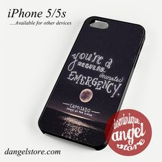 Panic at the disco Quotes Phone case for iPhone 4/4s/5/5c/5s/6/6 plus