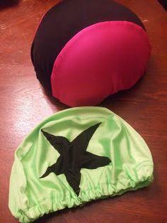 Roller Derby Helmet Panty Pattern