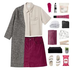 """avifors"" by silverly ❤ liked on Polyvore featuring Monki, Mountain Khakis, Birkenstock, Yes To, Topshop, Lux-Art Silks, Home Source International, Davines, Status Anxiety and Soft-Tex"