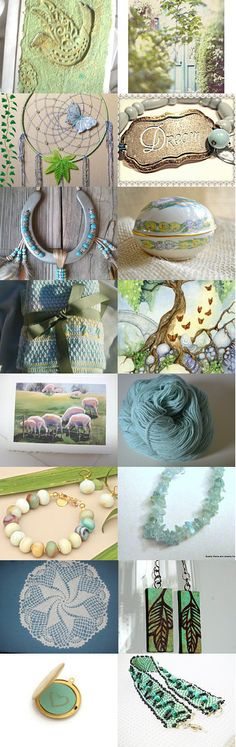 Spring Dream by Laura on Etsy--Pinned with TreasuryPin.com