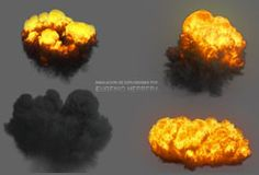 Freebie Friday - Free Explosions for CINEMA 4D Using Turbulence FD